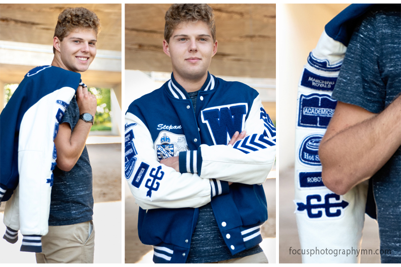 Woodbury Royals Letter Jacket Portraits | Focus by Susan