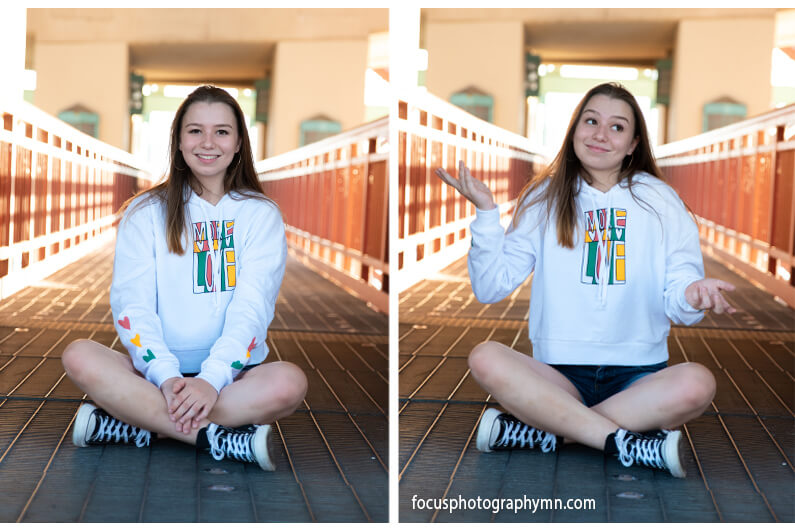 Fun Affordable Senior Portraits | Focus Photography by Susan
