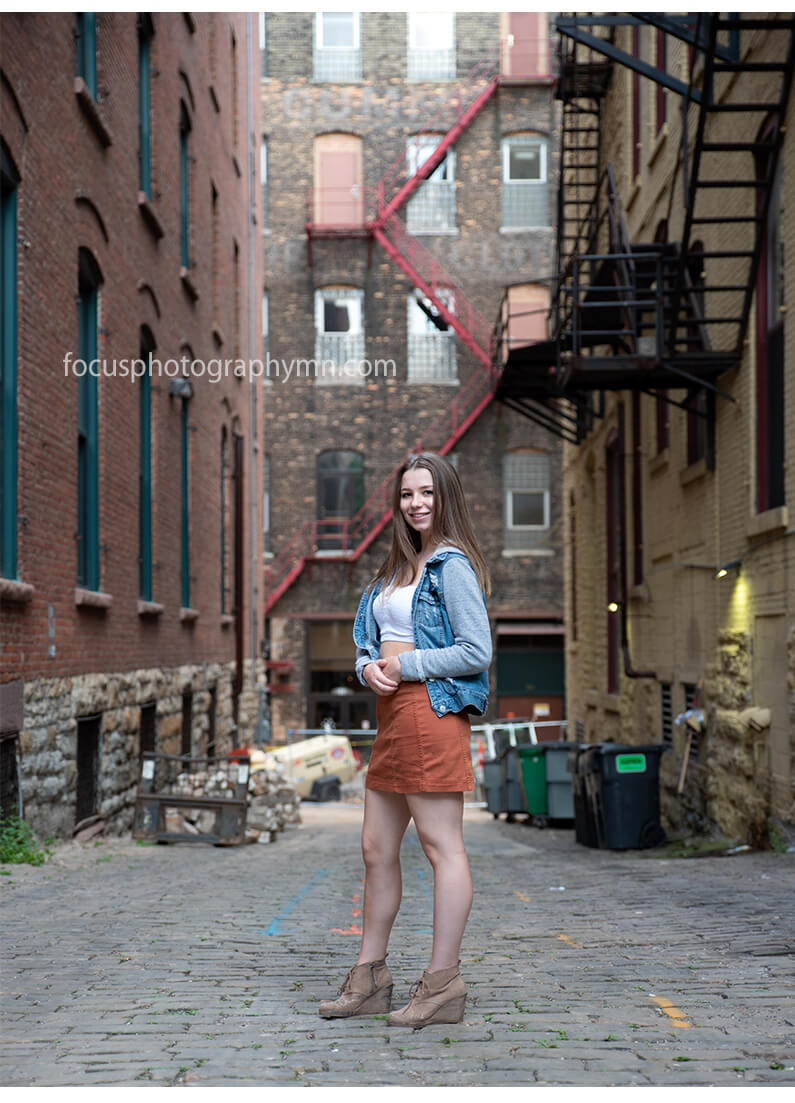 Urban Alley Portraits | Focus by Susan